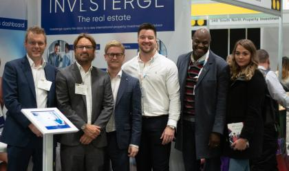 Investerge launch new portal at the Property Investors show in London